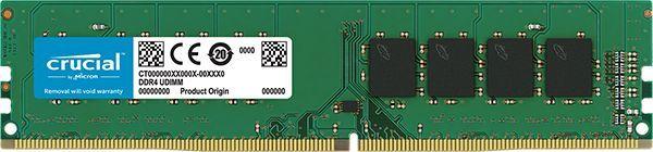 Память DDR4 16Gb 2666MHz Crucial CT16G4DFD8266 RTL PC4-21300 CL19 DIMM 288-pin 1.2В dual rank