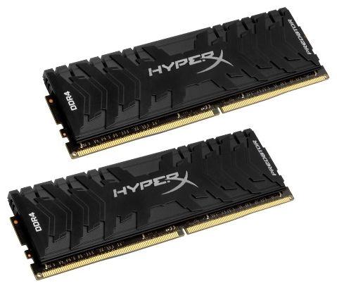 Память DDR4 2x8Gb 3333MHz Kingston HX433C16PB3K2/16 RTL PC4-26600 CL16 DIMM 288-pin 1.35В single rank