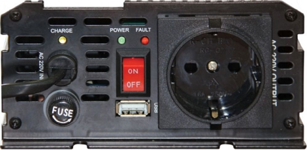 Автоинвертор Ritmix RPI-6010 600Вт (плохая упаковка)