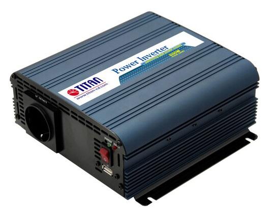 Преобразователь Titan HW-600V6 DC12V+ 1USB Port. 600W (плохая упаковка)