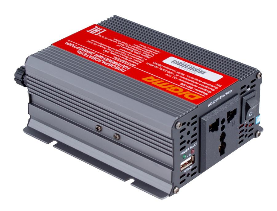 Автоинвертор Digma DCI-300 300Вт