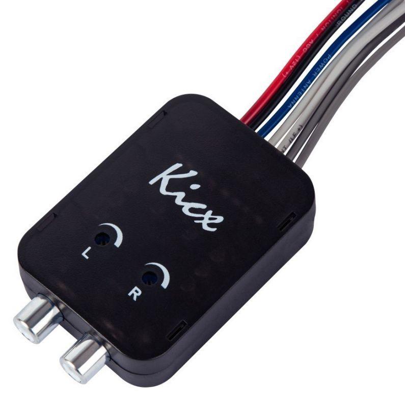 Конвертер Kicx HL02MS черный двухканальный (упак.:1шт)