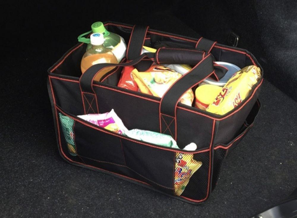 Органайзер в багажник Ritmix RAO-0867 черный/красный 29x40x26см (упак.:1шт)