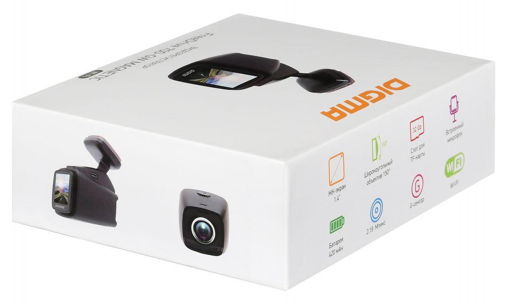 Видеорегистратор Digma FreeDrive 700-GW MAGNETIC черный 2.19Mpix 1080x1920 1080p 1 (плохая упаковка)