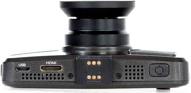 Видеорегистратор TrendVision TDR-718GP Ultimate черный 1296x2304 1296p 160гр. GPS Ambarella A7LA70