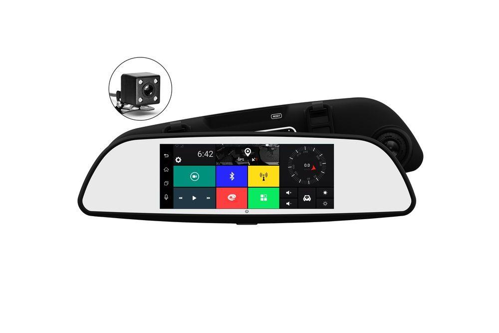 Видеорегистратор TrendVision aMirror Slim черный 1080x1920 1080p MT8382