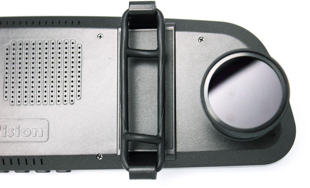 Видеорегистратор TrendVision MR-715 GNS черный 1296x2304 1296p 160гр. GPS Ambarella A7LA50