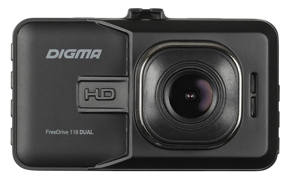 Видеорегистратор Digma FreeDrive 118 DUAL черный 1.3Mpix 1080x1920 1080p 150гр. JL (плохая упаковка)