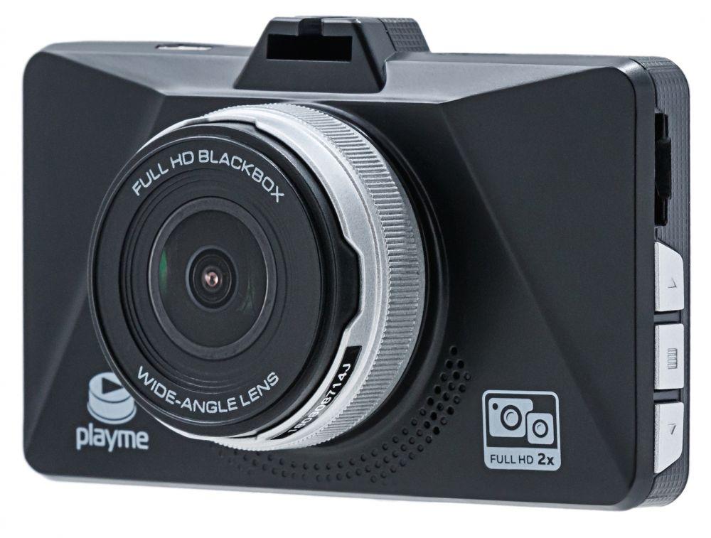 Видеорегистратор Playme Zeta черный 2Mpix 1080x1920 1080p 150гр. MSC8339