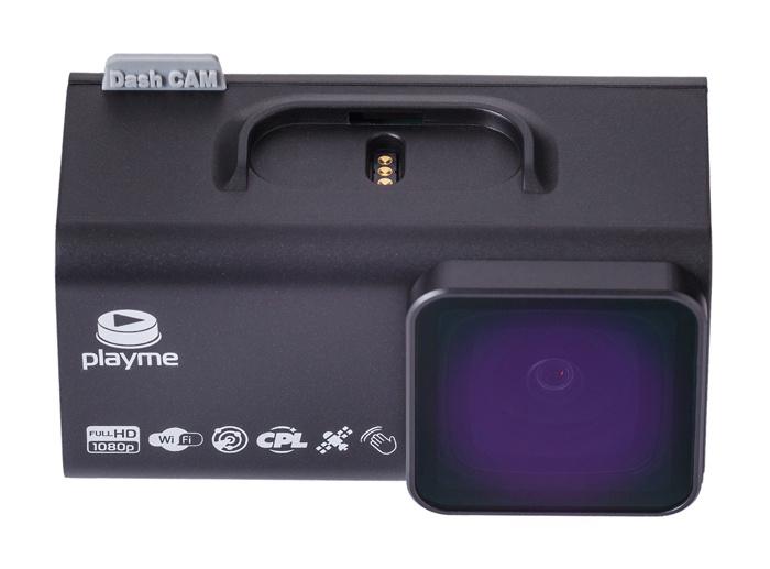 Видеорегистратор Playme TIO S черный 2Mpix 1080x1920 1080p 150гр. GPS NTK96658