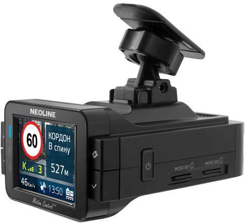 Видеорегистратор с радар-детектором Neoline X-COP 9100s GPS ГЛОНАСС черный
