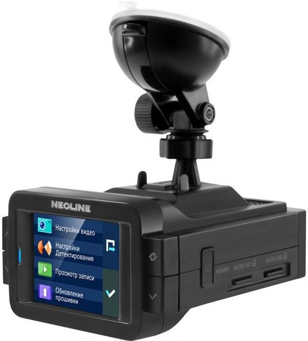 Видеорегистратор с радар-детектором Neoline X-COP 9100 GPS ГЛОНАСС черный