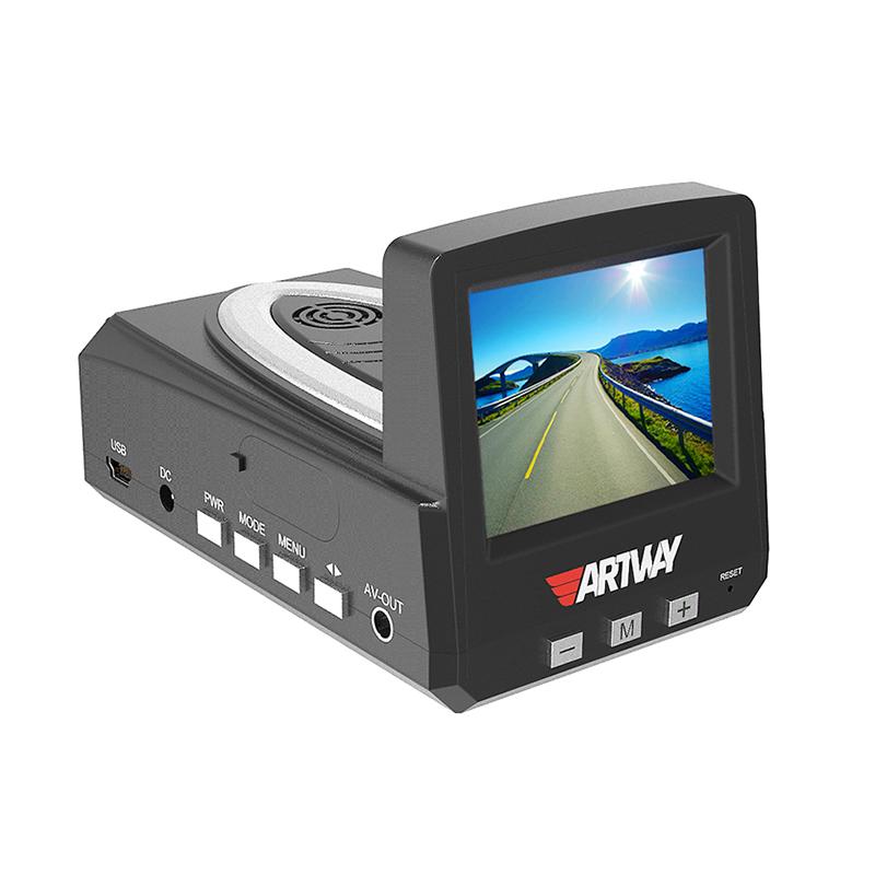 Видеорегистратор Artway MD-101 черный 1Mpix 720x1280 140гр. GPS (плохая упаковка)