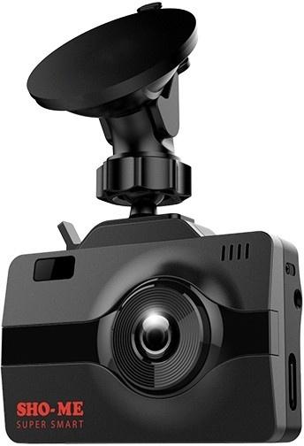 Видеорегистратор с радар-детектором Sho-Me Combo Super Smart GPS ГЛОНАСС черный