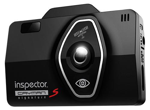 Видеорегистратор с радар-детектором Inspector CAYMAN S Signature черный