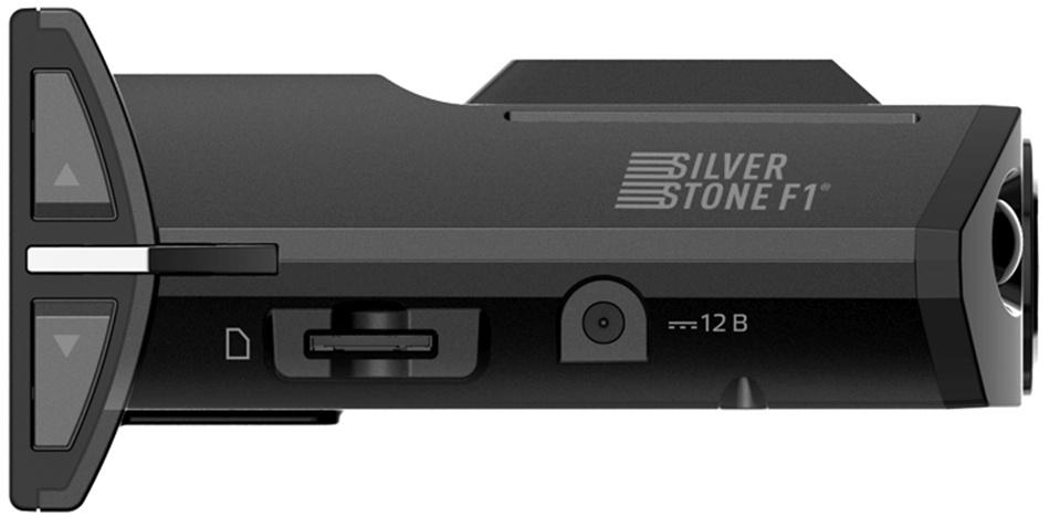 Видеорегистратор с радар-детектором Silverstone F1 HYBRID S-BOT GPS черный