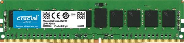 Память DDR4 Crucial CT8G4RFD8266 8Gb DIMM ECC Reg PC4-21300 CL19 2666MHz