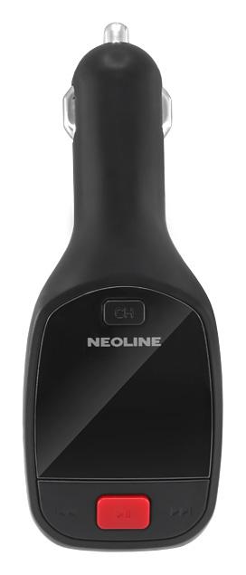 Автомобильный FM-модулятор Neoline Ellipse FM черный SD USB PDU