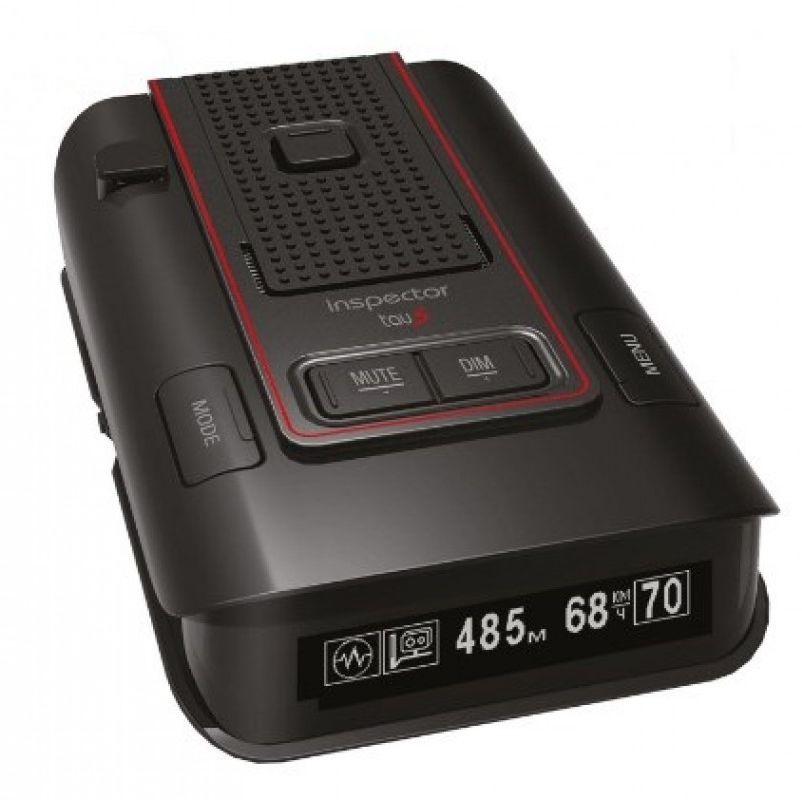 Радар-детектор Inspector RD Tau S GPS приемник черный