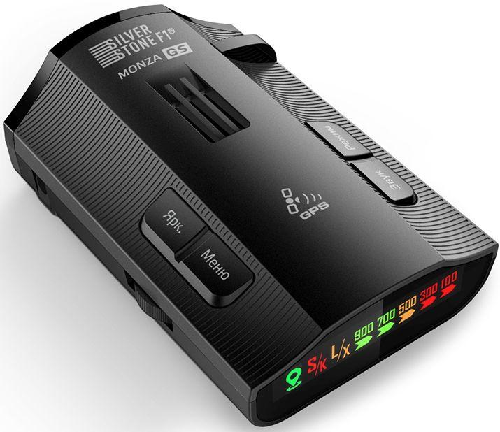 Радар-детектор Silverstone F1 Monza GS GPS приемник черный