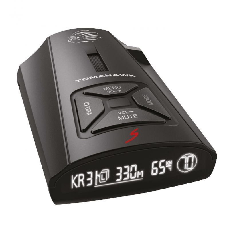 Радар-детектор Tomahawk NAVAJO S GPS приемник черный
