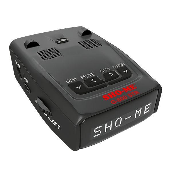 Радар-детектор Sho-Me G-800 Signature GPS приемник