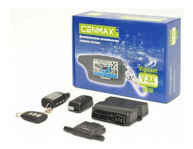 Автосигнализация Cenmax Vigilant V-8A с обратной связью брелок с ЖК дисплеем