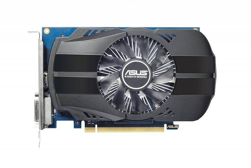 Видеокарта Asus PCI-E PH-GT1030-O2G nVidia GeForce GT 1030 2048Mb 64bit GDDR5 1278/6008 DVIx1/HDMIx1/HDCP Ret