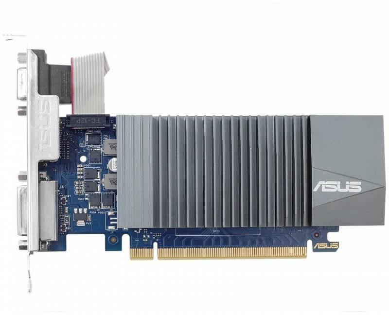 Видеокарта Asus PCI-E GT710-SL-2GD5 nVidia GeForce GT 710 2048Mb 64bit GDDR5 954/5012 DVIx1/HDMIx1/CRTx1/HDCP Ret