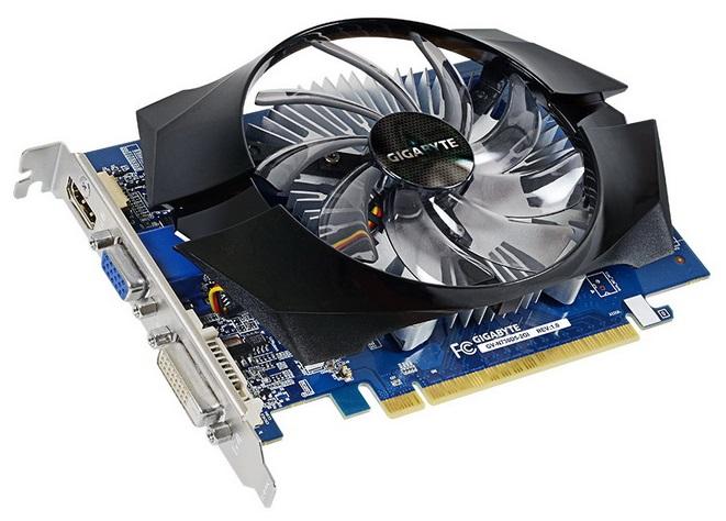 Видеокарта Gigabyte PCI-E GV-N730D5-2GI nVidia GeForce GT 730 2048Mb 64bit GDDR5 902/5000 DVIx1/HDMIx1/CRTx1/HDCP Ret