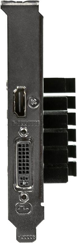 Видеокарта Gigabyte PCI-E GV-N710D5SL-2GL nVidia GeForce GT 710 2048Mb 64bit GDDR5 954/5010 DVIx1/HDMIx1/HDCP Ret low profile