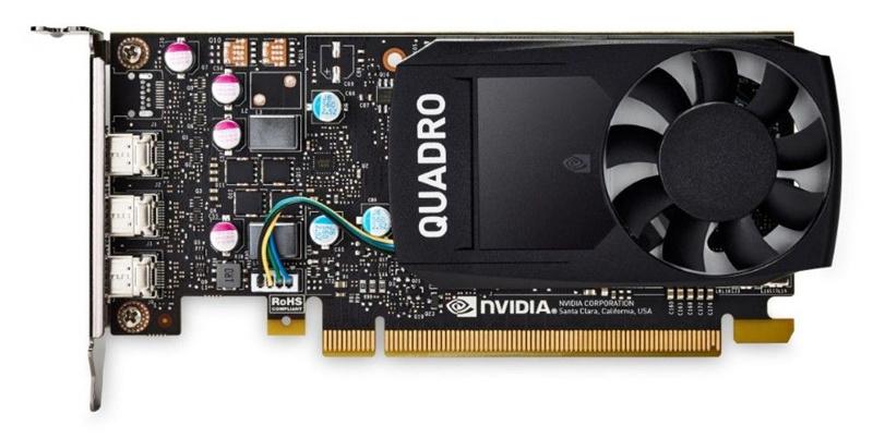 Видеокарта Dell PCI-E Quadro P620 NVIDIA Quadro P620 2048Mb 128bit GDDR5/mDPx4 oem