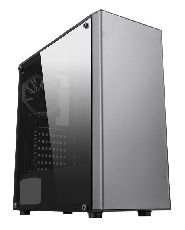 Корпус Accord JP-VI черный без БП ATX 2xUSB2.0 1xUSB3.0 audio bott PSU