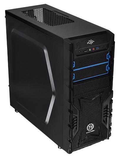 Корпус Thermaltake Versa H23 черный без БП ATX 2x120mm 1xUSB2.0 1xUSB3.0 audio bott PSU