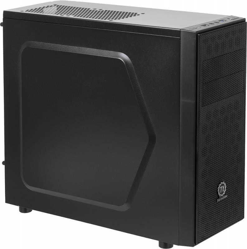 Корпус Thermaltake Versa H24 черный без БП ATX 2x120mm 1xUSB2.0 1xUSB3.0 audio bott PSU