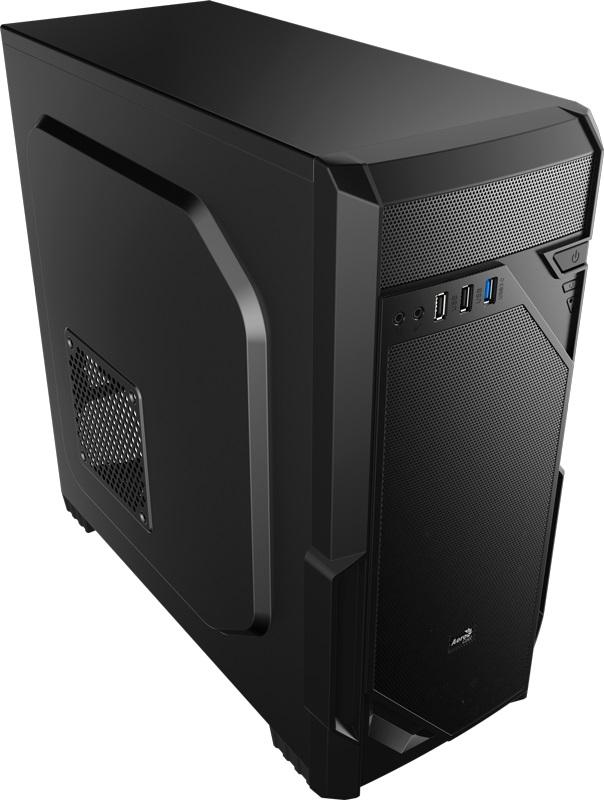 Корпус Aerocool VS-1 черный без БП ATX 2x120mm 2xUSB2.0 1xUSB3.0 audio bott PSU