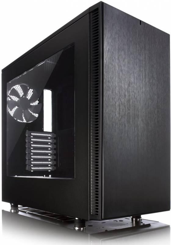 Корпус Fractal Design Define S Window черный без БП ATX 8x120mm 6x140mm 2xUSB3.0 audio bott PSU
