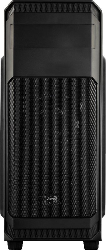 Корпус Aerocool AERO-300 черный без БП ATX 6x120mm 2xUSB2.0 1xUSB3.0 audio bott PSU