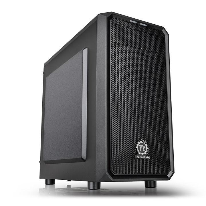 Корпус Thermaltake Versa H15 черный без БП mATX 4x120mm 1xUSB2.0 1xUSB3.0 audio bo (плохая упаковка)