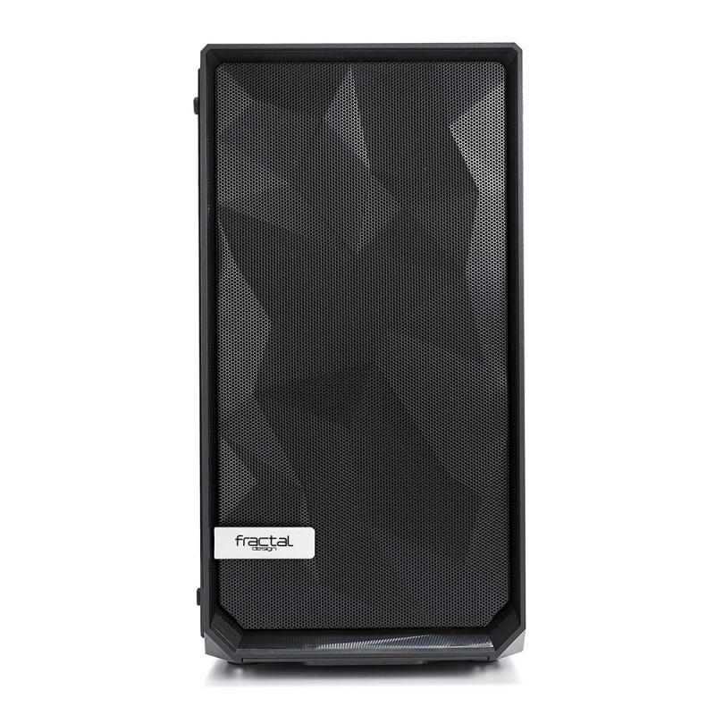 Корпус Fractal Design Meshify Mini C TG черный без БП mATX 5x120mm 4x140mm 2xUSB3. (плохая упаковка)