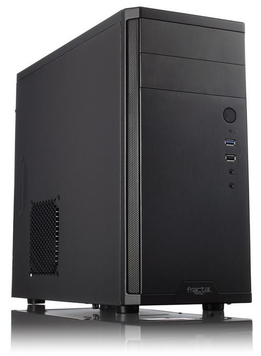 Корпус Fractal Design Core 1100 черный без БП mATX 1x120mm 1xUSB2.0 1xUSB3.0 audio