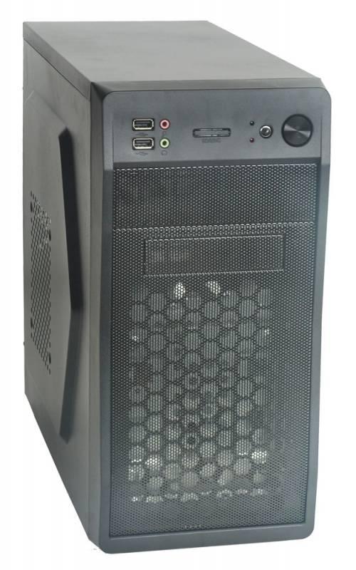 Корпус Formula FM-602 черный 450W mATX 2x120mm 2xUSB2.0 audio (плохая упаковка)