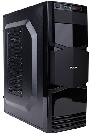 Корпус Zalman ZM-T3 черный без БП mATX 1x80mm 3x120mm 1xUSB2.0 1xUSB3.0 audio bott PSU