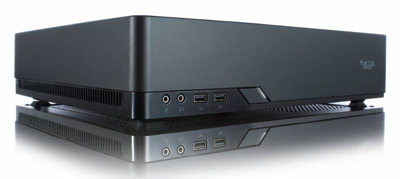 Корпус Fractal Design Node 202 черный без БП miniITX 2x120mm 2xUSB3.0 audio bott PSU