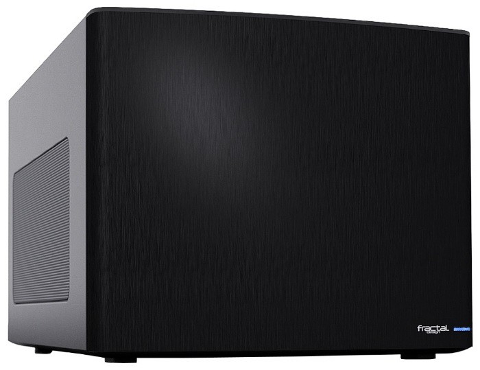 Корпус Fractal Design Node 304 черный без БП miniITX 2x92mm 1x140mm 2xUSB3.0 audio bott PSU