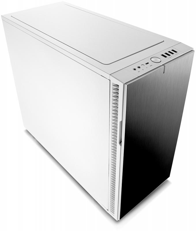 Корпус Fractal Design Define R6 USB-C белый без БП E-ATX 7x120mm 7x140mm 2xUSB2.0  (плохая упаковка)