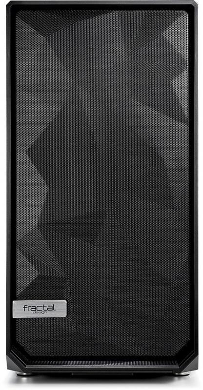 Корпус Fractal Design Meshify S2 Solid черный без БП E-ATX 5x120mm 4x140mm 2xUSB3. (плохая упаковка)