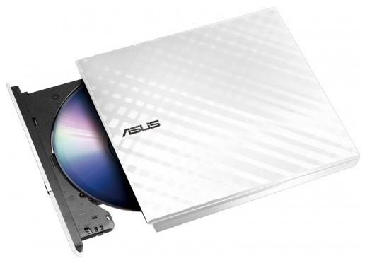 Привод DVD-RW Asus SDRW-08D2S-U LITE/WHT/G/AS белый USB внешний RTL