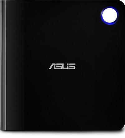 Привод Blu-Ray-RW Asus SBW-06D5H-U черный/серебристый USB3.0 slim ultra slim M-Disk Mac внешний RTL