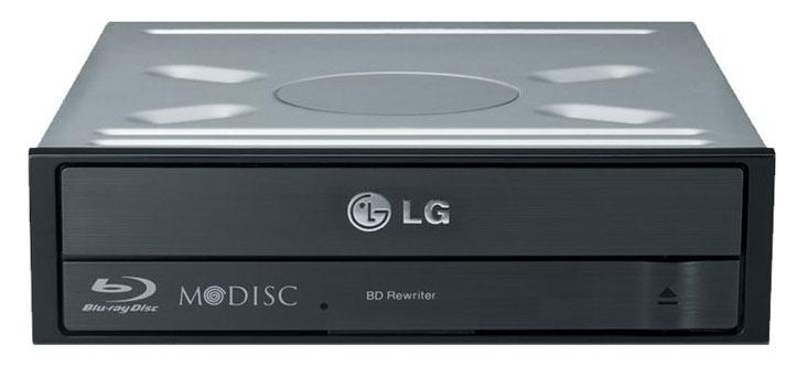 Привод Blu-Ray LG BH16NS40 черный SATA внутренний oem